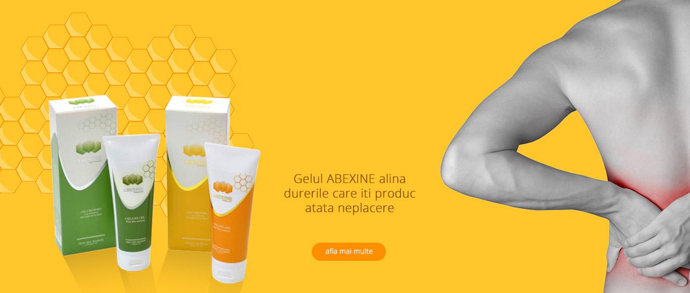 Produsul minune pentru ameliorarea durerilor - Abexine Gel